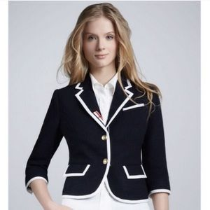 Neiman Marcus for Target Blue Pure Wool Blazer